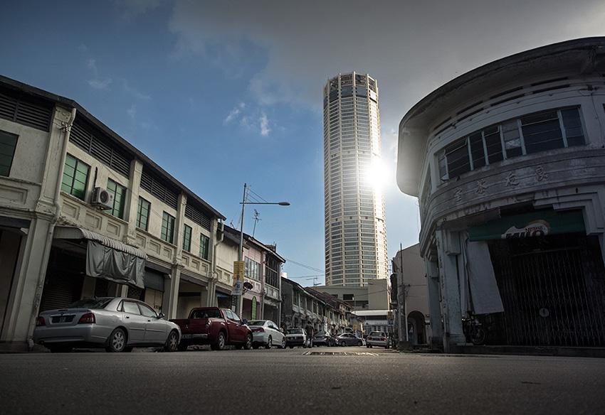 La tour Komtar