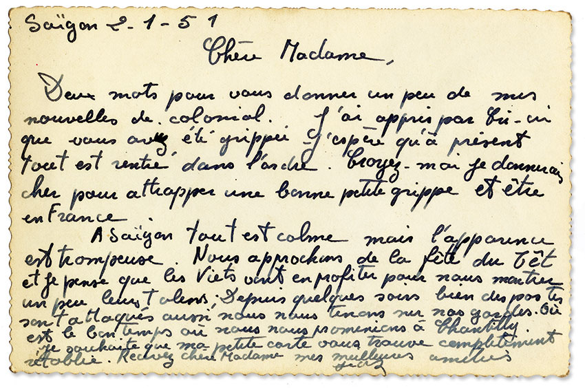 Ma chère Cri-Cri, lettres d'Indochine